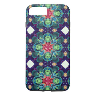 Colorful Succulent Garden Cactus Kaleidoscope iPhone 8 Plus/7 Plus Case