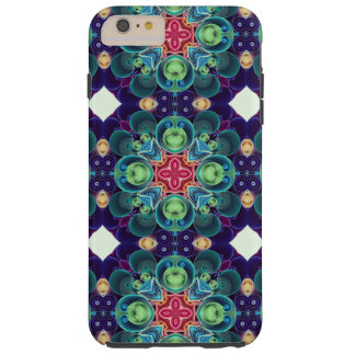 Colorful Succulent Garden Cactus Kaleidoscope Tough iPhone 6 Plus Case