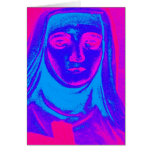 colorful suffering greeting card