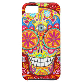 Colorful Sugar Skull iPhone 5 Covers