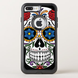 Colorful Sugar Skull OtterBox Commuter iPhone 8 Plus/7 Plus Case