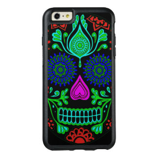 Colorful Sugar Skull OtterBox iPhone 6/6s Plus Case