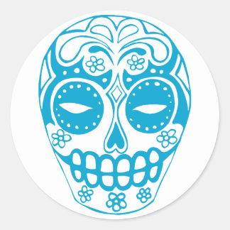 Colorful Sugar Skull Sticker