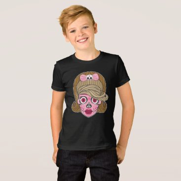 Halloween Themed Colorful Sugar Skull T-Shirt