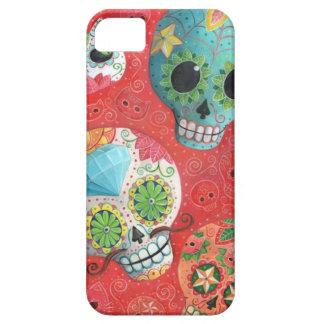 Colorful Sugar Skulls iPhone 5 Cases