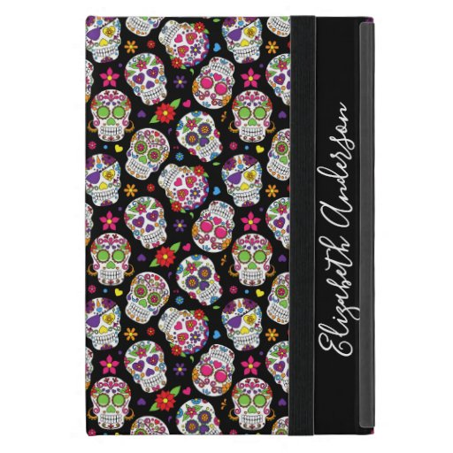Colorful Sugar Skulls Personalized Case For iPad Mini