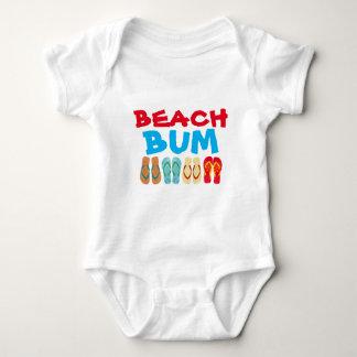 Colorful Summer Flip Flops Beach Bum Creeper