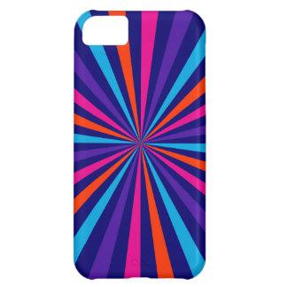 Colorful Sun Burst Spinning Wheel Decor iPhone 5C Case