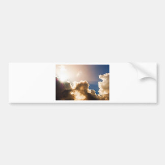 Colorful Sunburst Bumper Sticker