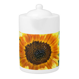 Colorful Sunflower Teapot