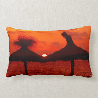 Colorful Sunset at the Sea - Throw Pillow