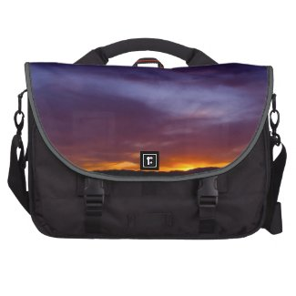 Colorful Sunset Bags For Laptop