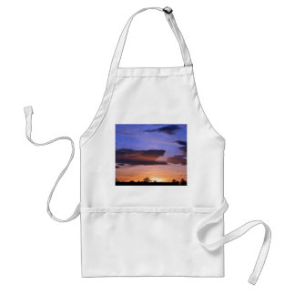 Colorful Sunset by Shirley Taylor Adult Apron
