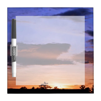 Colorful Sunset by Shirley Taylor Dry-Erase Board