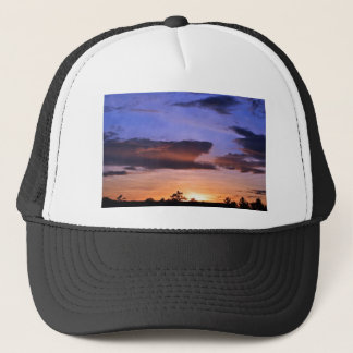 Colorful Sunset by Shirley Taylor Trucker Hat