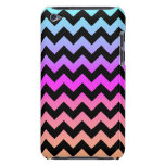 Colorful Sunset Chevron Barely There iPod Covers