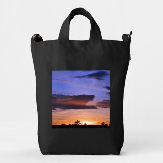 Colorful Sunset Duck Bag