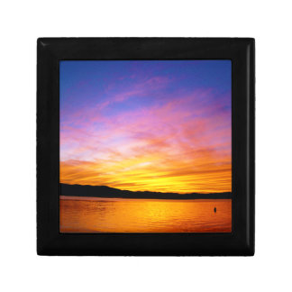Colorful Sunset Knysna South Africa Gift Box