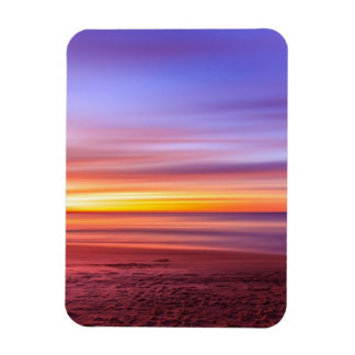 Colorful sunset magnet