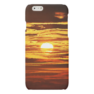 Colorful Sunset Matte iPhone 6 Case