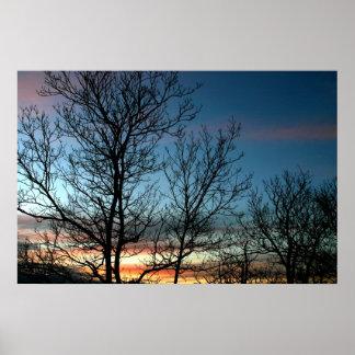 Colorful Sunset Print