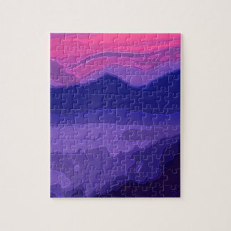 Colorful Sunset Jigsaw Puzzle