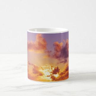 Colorful Sunset, Rays of Sunshine, Oregon Mugs