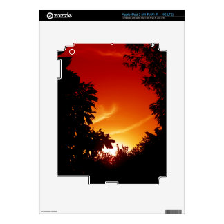 Colorful Sunset Skins For iPad 3