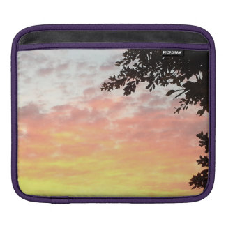 Colorful Sunset Sleeves For iPads