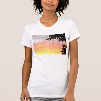 Colorful Sunset Tee Shirt