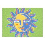 Colorful Sunshine 5x7 Paper Invitation Card