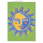 Colorful Sunshine Greeting Card