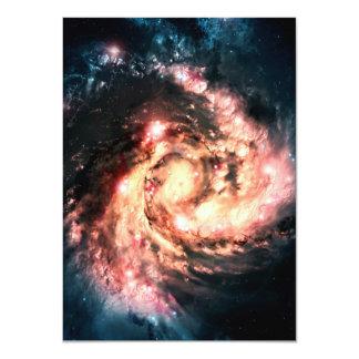 Colorful Supernova Card