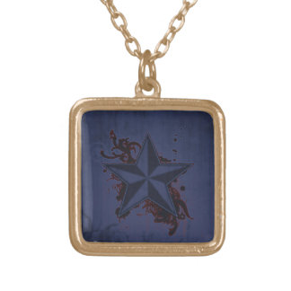 Colorful Superstar 2 Gold Plated Necklace