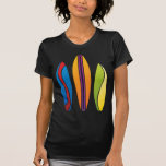 Colorful Surfboards Tshirt