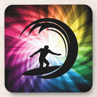 Colorful Surfing Drink Coaster