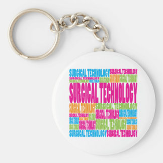 Colorful Surgical Technology Keychain