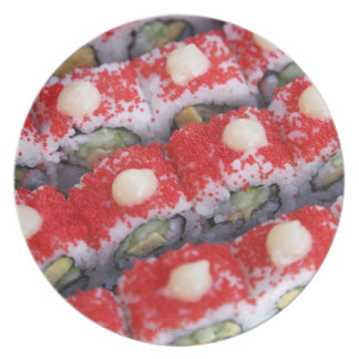 Colorful sushi for sale melamine plate