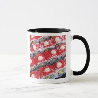 Colorful sushi for sale mug