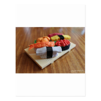 Colorful Sushi Plate Gifts Cards Tees Etc