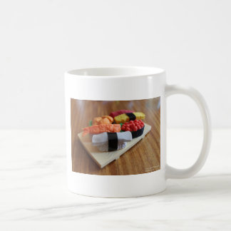 Colorful Sushi Plate Gifts Cards Tees Etc Coffee Mug