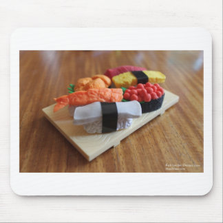 Colorful Sushi Plate Gifts Cards Tees Etc Mouse Pad