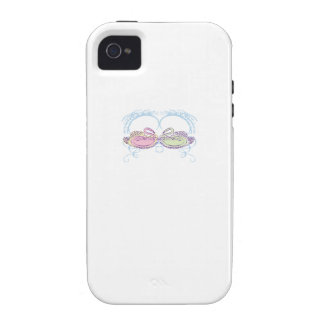 Colorful Swans iPhone 4 Cases