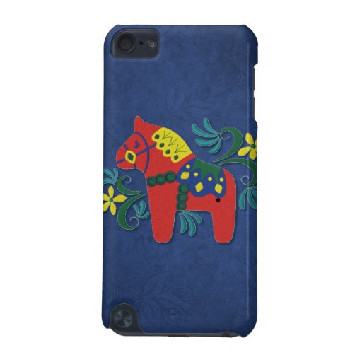 Colorful Swedish Dala Horse iPod Touch 5G Cover