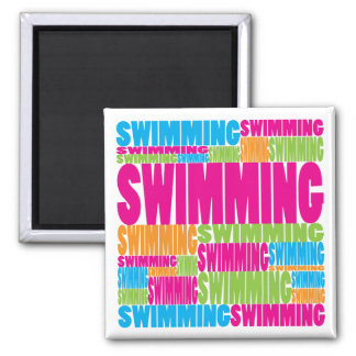 Colorful Swimming Magnet