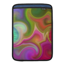 Colorful Swirl Abstract MacBook Air Sleeve