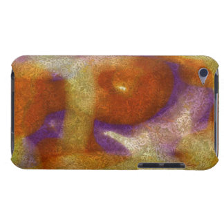 COLORFUL SWIRL ETCHING DESIGN iPod Touch Case