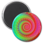 Colorful Swirl Magnet