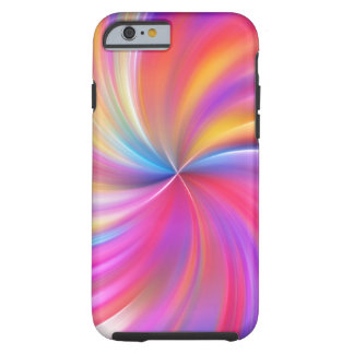 Colorful Swirl Tough iPhone 6 Case