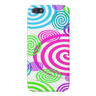 Colorful Swirls I-pod Touch Case